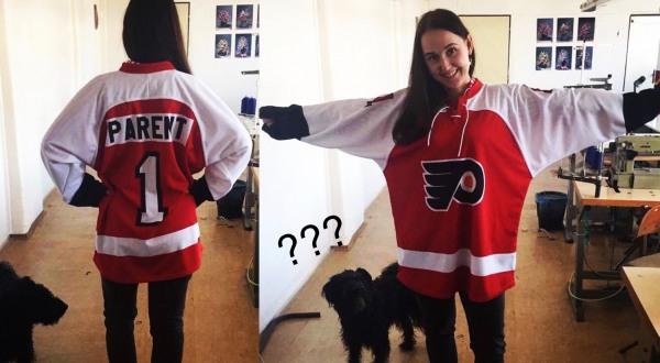 hokejový dres s potiskem markysport